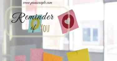 Reminder of you