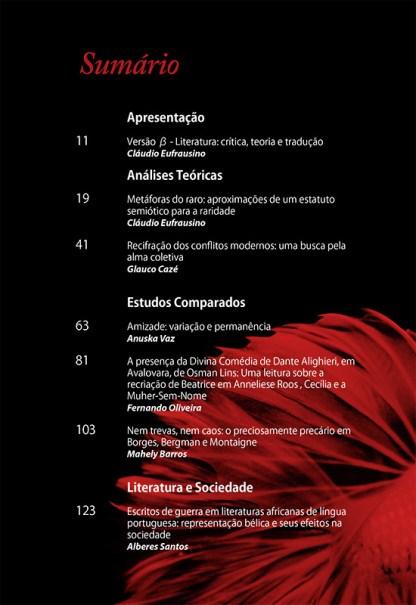 Versão β Literatura: crítica, teoria e tradução