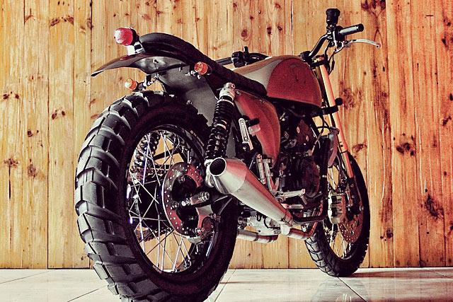 'Duster' Yamaha R25 – Studio Motor