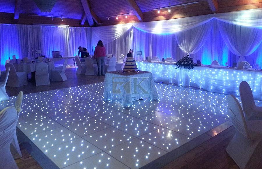 LED wedding dance floor