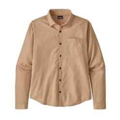 Patagonia Organic Cotton Slub Poplin Shirt End on End: Mellow Melon ENMN