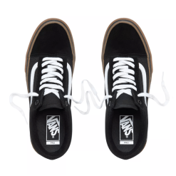 Vans Old Skool Pro Black-White-Gum