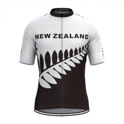 Freestylecycling New Zealand Men's Cycling Jersey White / Black