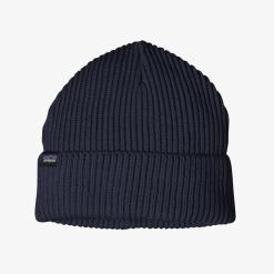 Patagonia Fisherman's Rolled Beanie Navy Blue NVYB