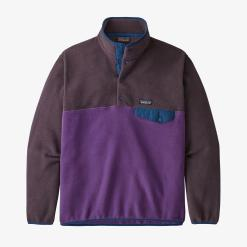 Patagonia Synchilla Snap-T Fleece Pullover European Fit Purple PUR