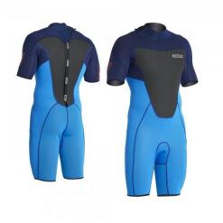 ION Wetsuit FL Element Shorty SS 2.5 Backzip Black/Blue