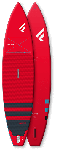 Fanatic 2021 Ray Air 12'6″ x 32″ Red