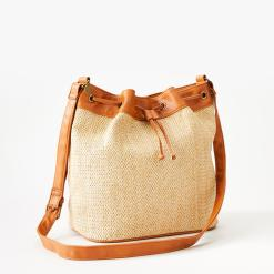 Rip Curl Paradise Palms Bucket Bag Honey