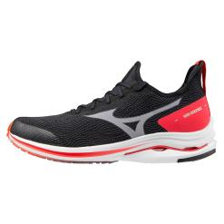 Mizuno Wave Rider Neo M Neutral Blk/Wht/Ignit Red