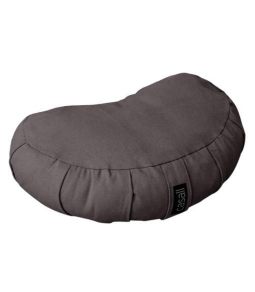 Casall Yoga Meditation Pillow Halfmoon Shape Warm Grey