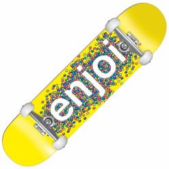 Enjoi Complete Candy Coated Yellow Full 8.25