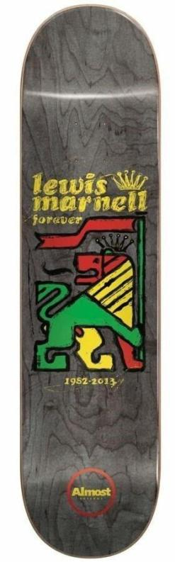 Almost Deck Rasta Lion Marne Lewis Marnell 8.0