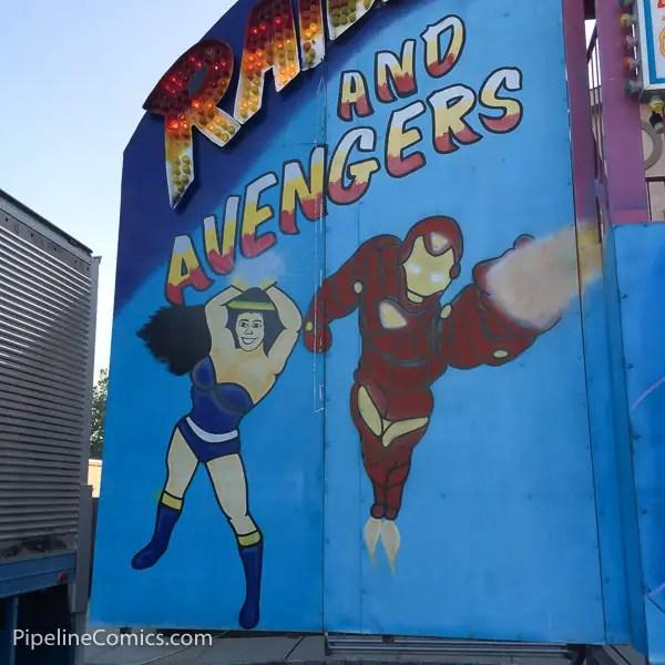 Carnival Avengers Iron Man
