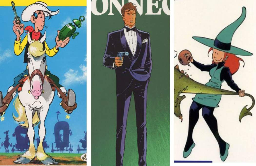 Cinebook, publishers of Melamine, Lucky Luke, and Largo Winch