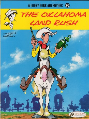 Lucky Luke from Cinebooks on Comixology