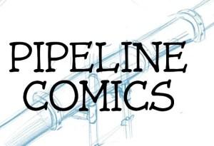 pipeline comics initial logo