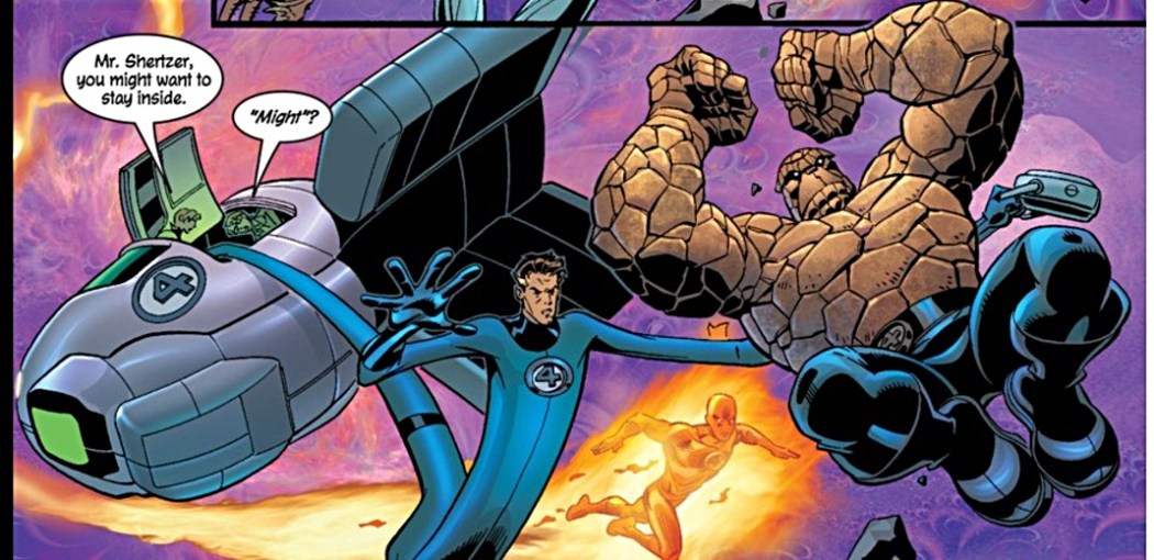 Fantastic Four #60 Page 4 Panel 4