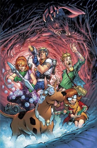 Jim Lee Scooby Doo has no feet