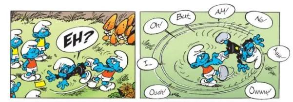 Brainy Smurf at the Olympics