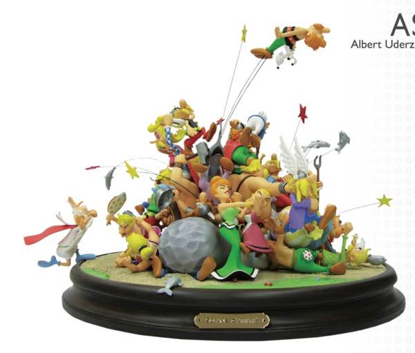 Attakus Asterix statue