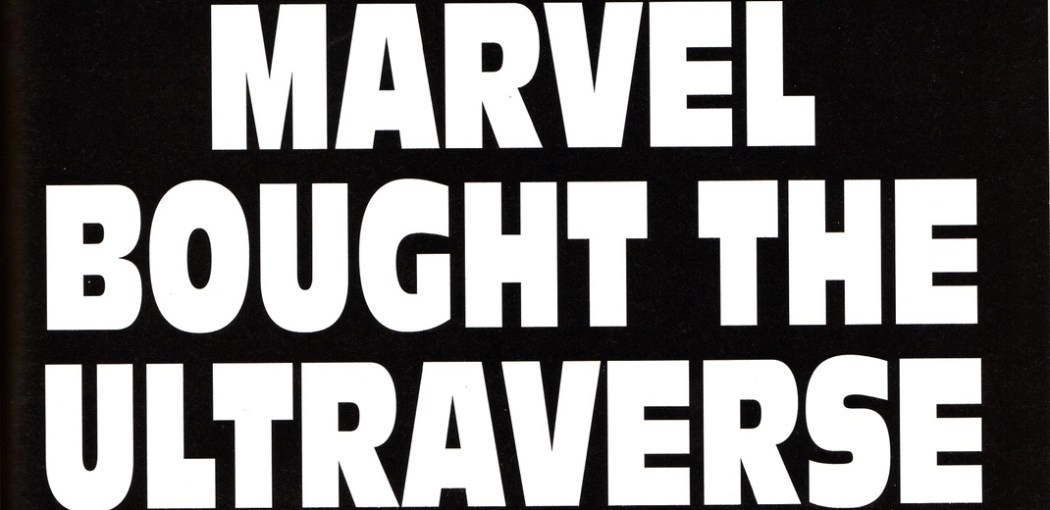 Marvel Bought the Ultraverse 1995 ad
