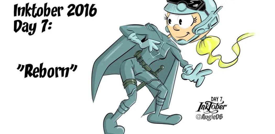 Reborn #1 by Greg Capullo -- I drew some fan art