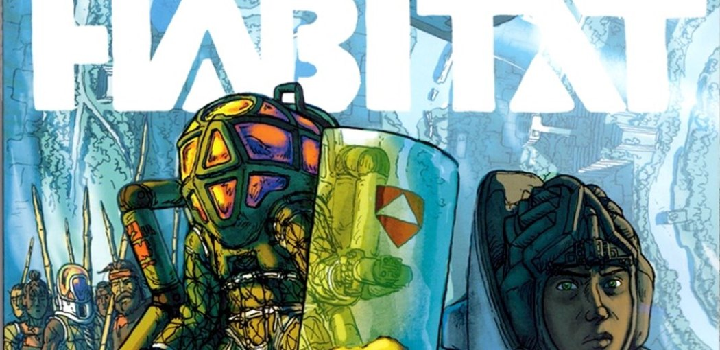 "Cover of Image Comics' ""Habitat"" OGN by Simon Roy"