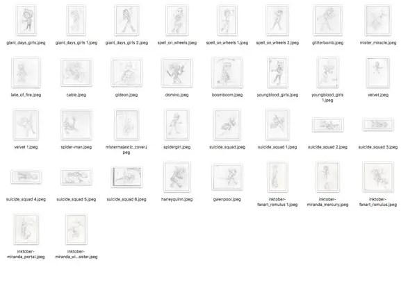 Inktober File Preview