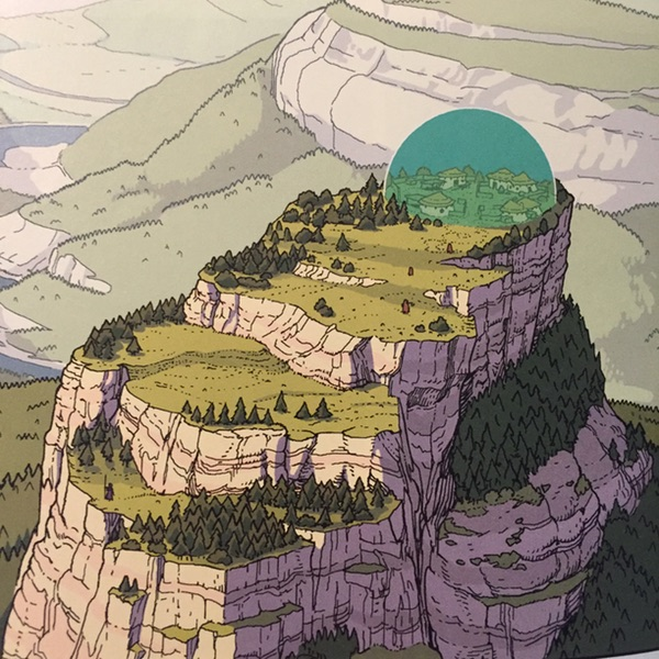 "Gael Bertrand art from ""Island"" #10 at Image Comics"