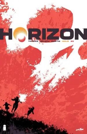 Horizon #2 cover by Jason Howard