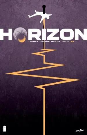 Horizon #3 cover by Jason Howard