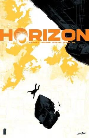 Horizon #4 cover by Jason Howard