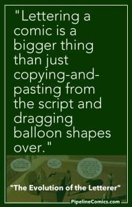 Pinterest Image for Lettering Evolutionering
