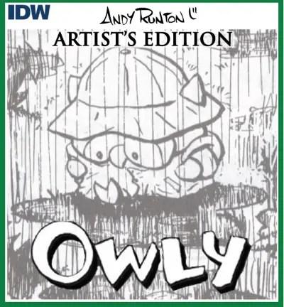 Andy Runton Owly Artist's Edition