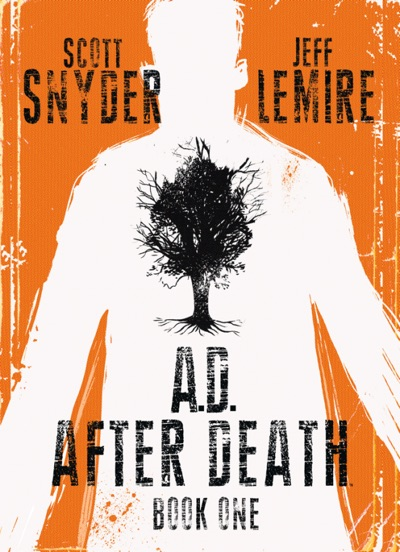 A.D. After Death Part one by Jeff Lemire and Scott Snyder.