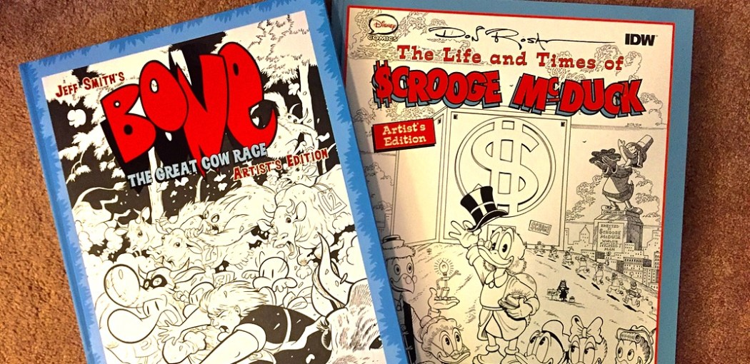 IDW started the Artist's Edition line.