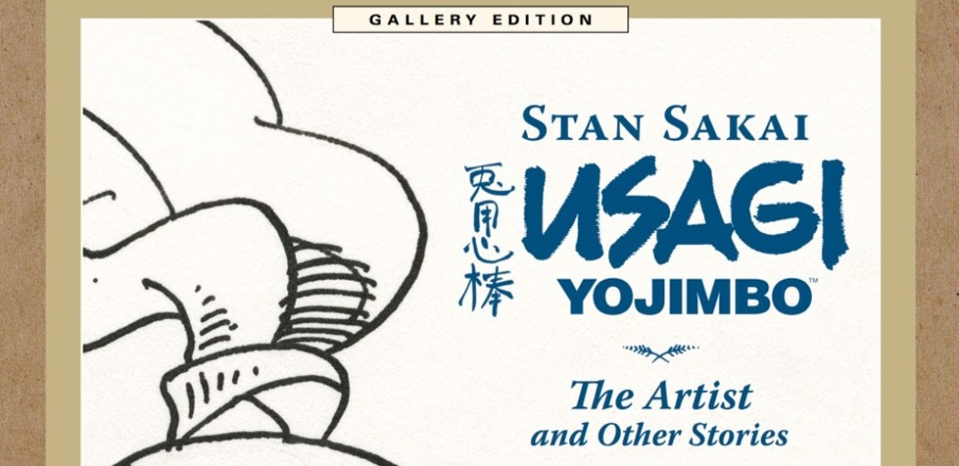 Stan Sakai Usagi Yojimbo The Artist and Other Stories Gallery Edition book