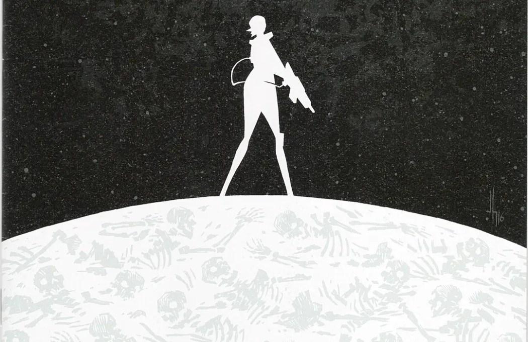 Horizon #1 cover by Jason Howard