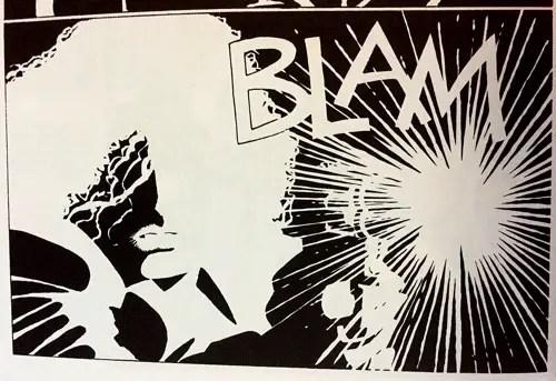 Sin City Blam Original Art