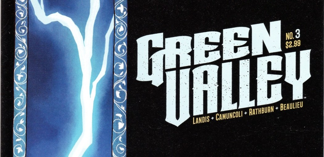 Green Valley #3 cover at Image Comics through Skybound