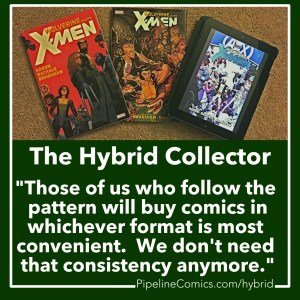 Comics Hybrid Collector definition for Instagram