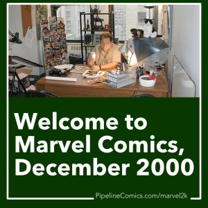 Joe Quesada welcomes you to Marvel in 2000