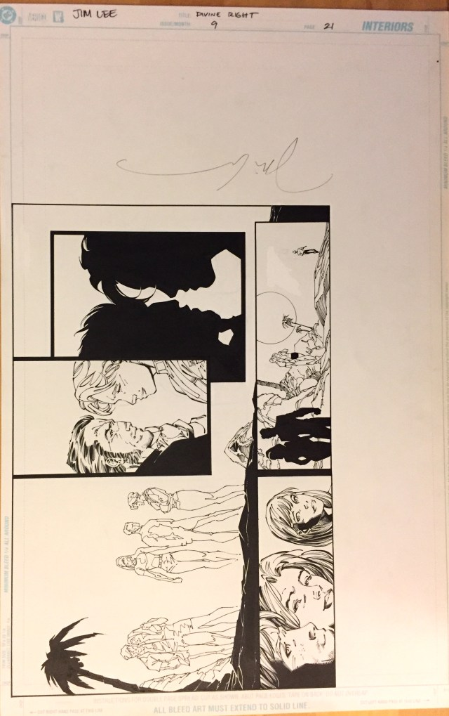 Jim Lee Divine Right #9 page 21