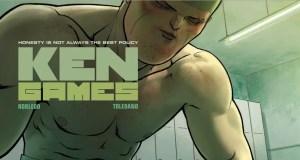 """Ken Games volume 1: """"Rock"""" cover"""