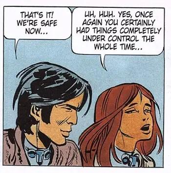 Laureline gets all sassy on Valerian