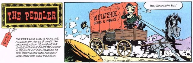 Lucky Luke The Peddler title tier
