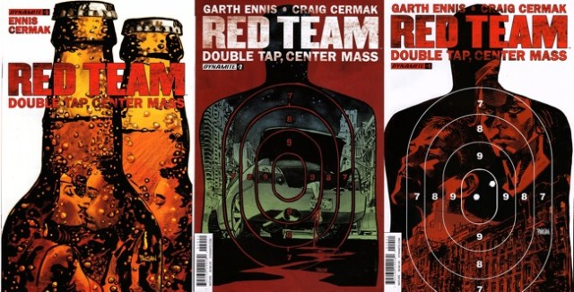 Red Team covers by Dan Panosian