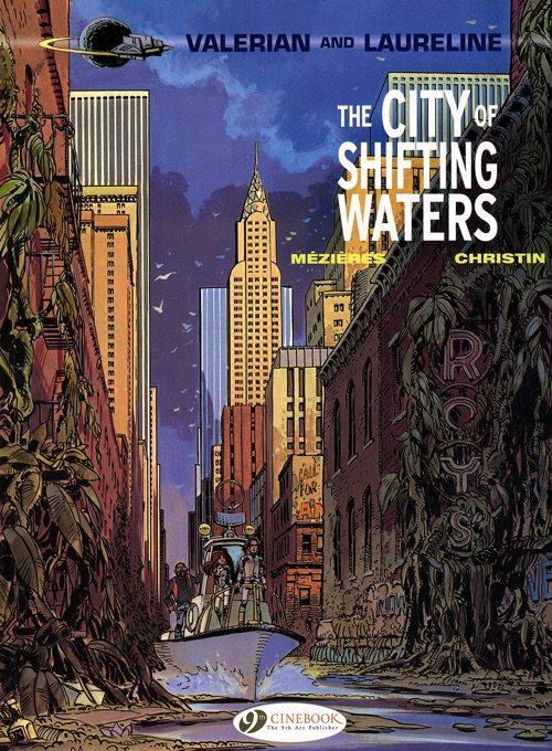 Valerian and Laureline v1 The City of Shifting Waters cover
