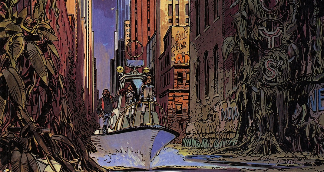 "Valerian and Laureline, v1: ""The City of Shifting Waters"""