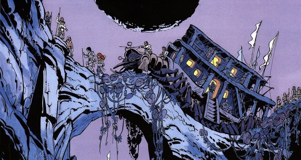 Valerian and Laureline: The Land Without Stars cover